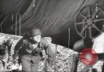 Image of U.S. troops in combat zones watch movies in World War II Pacific theater, 1943, second 54 stock footage video 65675062808