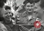 Image of American service personnel watch movies during World War II Naples Italy, 1943, second 11 stock footage video 65675062809