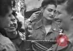 Image of American service personnel watch movies during World War II Naples Italy, 1943, second 14 stock footage video 65675062809