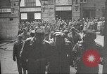Image of American service personnel watch movies during World War II Naples Italy, 1943, second 52 stock footage video 65675062809