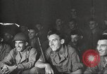 Image of U.S. Service personnel watch movies during World War II Pacific Theater, 1943, second 15 stock footage video 65675062810