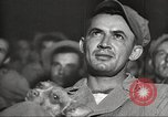 Image of U.S. Service personnel watch movies during World War II Pacific Theater, 1943, second 22 stock footage video 65675062810