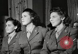 Image of U.S. Service personnel watch movies during World War II Pacific Theater, 1943, second 27 stock footage video 65675062810