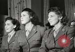 Image of U.S. Service personnel watch movies during World War II Pacific Theater, 1943, second 28 stock footage video 65675062810