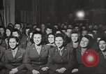 Image of U.S. Service personnel watch movies during World War II Pacific Theater, 1943, second 37 stock footage video 65675062810
