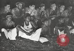 Image of U.S. Service personnel watch movies during World War II Pacific Theater, 1943, second 52 stock footage video 65675062810