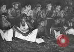 Image of U.S. Service personnel watch movies during World War II Pacific Theater, 1943, second 53 stock footage video 65675062810