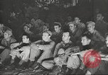 Image of U.S. Service personnel watch movies during World War II Pacific Theater, 1943, second 61 stock footage video 65675062810