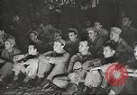 Image of U.S. Service personnel watch movies during World War II Pacific Theater, 1943, second 62 stock footage video 65675062810