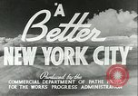 Image of Works Progress Administration depression projects New York City USA, 1936, second 6 stock footage video 65675062811