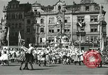 Image of United States soldiers Pilsen Czechoslovakia, 1945, second 4 stock footage video 65675062816