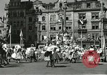 Image of United States soldiers Pilsen Czechoslovakia, 1945, second 7 stock footage video 65675062816