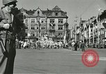 Image of United States soldiers Pilsen Czechoslovakia, 1945, second 19 stock footage video 65675062816