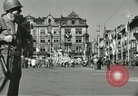 Image of United States soldiers Pilsen Czechoslovakia, 1945, second 20 stock footage video 65675062816