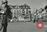 Image of United States soldiers Pilsen Czechoslovakia, 1945, second 21 stock footage video 65675062816