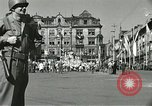 Image of United States soldiers Pilsen Czechoslovakia, 1945, second 22 stock footage video 65675062816