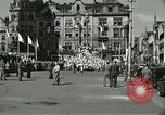 Image of United States soldiers Pilsen Czechoslovakia, 1945, second 24 stock footage video 65675062816