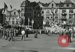Image of United States soldiers Pilsen Czechoslovakia, 1945, second 25 stock footage video 65675062816
