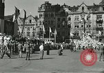 Image of United States soldiers Pilsen Czechoslovakia, 1945, second 26 stock footage video 65675062816