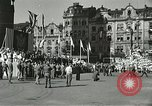 Image of United States soldiers Pilsen Czechoslovakia, 1945, second 27 stock footage video 65675062816