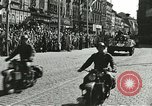 Image of United States soldiers Pilsen Czechoslovakia, 1945, second 29 stock footage video 65675062816