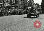 Image of United States soldiers Pilsen Czechoslovakia, 1945, second 30 stock footage video 65675062816
