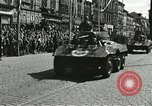 Image of United States soldiers Pilsen Czechoslovakia, 1945, second 31 stock footage video 65675062816