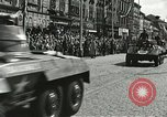 Image of United States soldiers Pilsen Czechoslovakia, 1945, second 32 stock footage video 65675062816