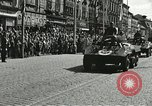 Image of United States soldiers Pilsen Czechoslovakia, 1945, second 33 stock footage video 65675062816