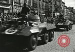 Image of United States soldiers Pilsen Czechoslovakia, 1945, second 34 stock footage video 65675062816