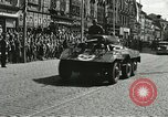 Image of United States soldiers Pilsen Czechoslovakia, 1945, second 35 stock footage video 65675062816