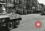 Image of United States soldiers Pilsen Czechoslovakia, 1945, second 36 stock footage video 65675062816