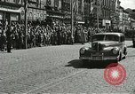 Image of United States soldiers Pilsen Czechoslovakia, 1945, second 39 stock footage video 65675062816