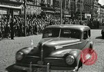 Image of United States soldiers Pilsen Czechoslovakia, 1945, second 40 stock footage video 65675062816