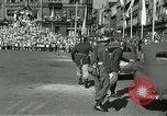 Image of United States soldiers Pilsen Czechoslovakia, 1945, second 42 stock footage video 65675062816