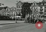 Image of United States soldiers Pilsen Czechoslovakia, 1945, second 56 stock footage video 65675062816