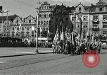 Image of United States soldiers Pilsen Czechoslovakia, 1945, second 57 stock footage video 65675062816