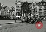 Image of United States soldiers Pilsen Czechoslovakia, 1945, second 58 stock footage video 65675062816