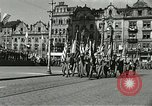 Image of United States soldiers Pilsen Czechoslovakia, 1945, second 59 stock footage video 65675062816