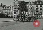 Image of United States soldiers Pilsen Czechoslovakia, 1945, second 60 stock footage video 65675062816