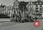 Image of United States soldiers Pilsen Czechoslovakia, 1945, second 62 stock footage video 65675062816