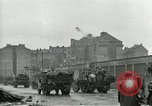 Image of 16th Armored Division greeted by Czech citizens Pilsen Czechoslovakia, 1945, second 19 stock footage video 65675062817