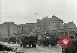 Image of 16th Armored Division greeted by Czech citizens Pilsen Czechoslovakia, 1945, second 20 stock footage video 65675062817