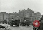 Image of 16th Armored Division greeted by Czech citizens Pilsen Czechoslovakia, 1945, second 25 stock footage video 65675062817