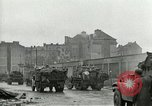 Image of 16th Armored Division greeted by Czech citizens Pilsen Czechoslovakia, 1945, second 26 stock footage video 65675062817