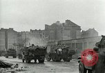 Image of 16th Armored Division greeted by Czech citizens Pilsen Czechoslovakia, 1945, second 27 stock footage video 65675062817