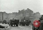 Image of 16th Armored Division greeted by Czech citizens Pilsen Czechoslovakia, 1945, second 29 stock footage video 65675062817
