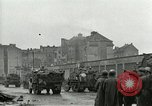 Image of 16th Armored Division greeted by Czech citizens Pilsen Czechoslovakia, 1945, second 33 stock footage video 65675062817
