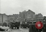 Image of 16th Armored Division greeted by Czech citizens Pilsen Czechoslovakia, 1945, second 34 stock footage video 65675062817
