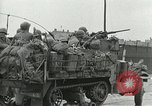 Image of 16th Armored Division greeted by Czech citizens Pilsen Czechoslovakia, 1945, second 50 stock footage video 65675062817